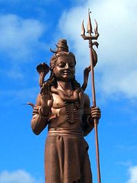 33 metre Lord Shiva statue near Grand Bassin