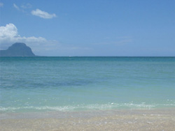 La Preneuse Beach och Le Morne
